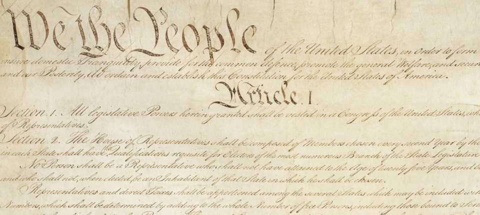 Article One of the United States Constitution
